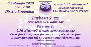 Fibromialgia: CFU-Italia spiega il ruolo dell'associazione