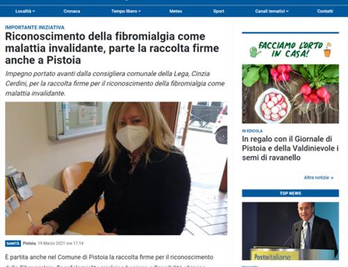 """Pistoia diventa """"Comune a Sostegno"""""""